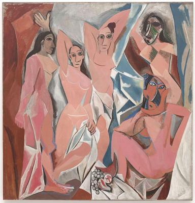 Demoiselles d'Avignon-Picasso