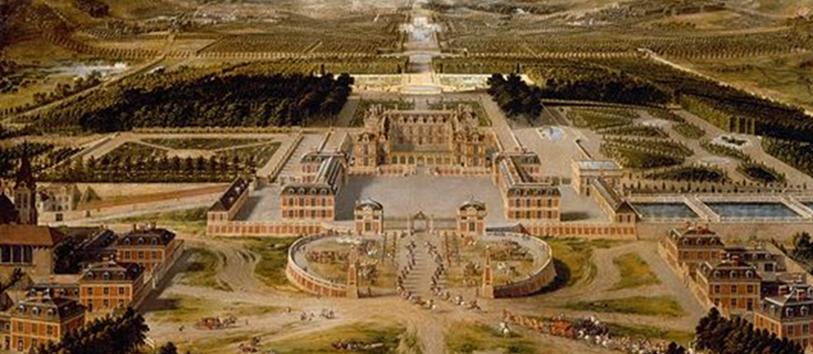 Durant quelle période le roi Louis XIV a-t-il fait construire le palais de Versailles ?