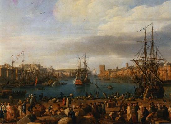 Interieur port 1754
