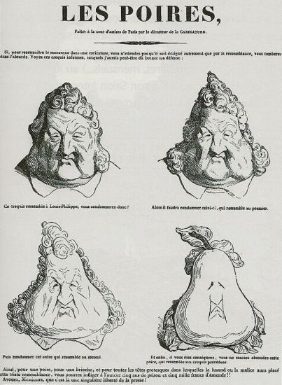 Les Poires-Daumier