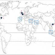 Quelle métropole mondiale correspond au numéro 1 ? (cliquez sur la carte pour l'agrandir)