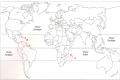 Sur ce planisphère, où est située la Martinique ? (cliquez sur la carte pour l'agrandir)