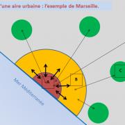 Sur ce schéma (cliquez sur l'image), à quoi correspond la zone A (en rouge) ?