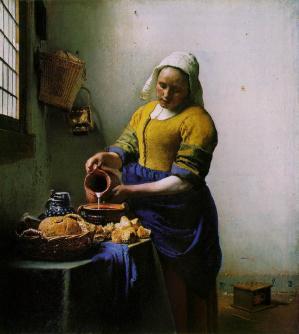 Vermeer laitiere
