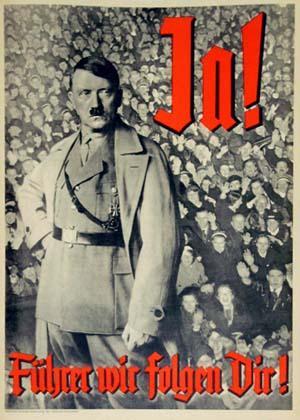 Quel est le but de cette affiche de propagande (cliquez sur l'image) ?